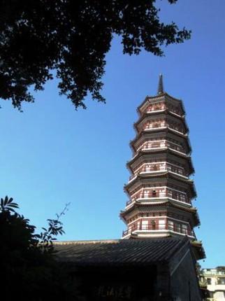 広州にある六塔。